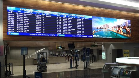 Hawaii Airport Digital Display | We Are More | Maui, Hawaii